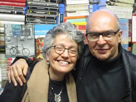 """""""Rosario y Sandro Romero"""". Fotografía cedida por Rosario Caicedo."""