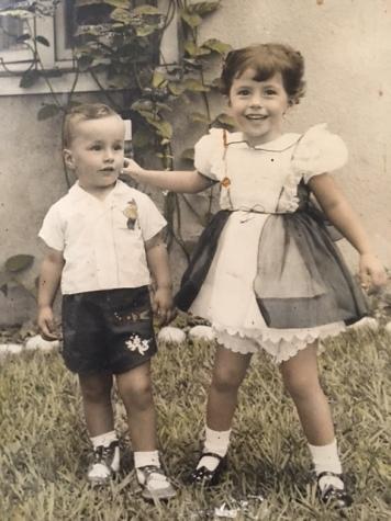 """""""Andrés y Rosario"""". Fotografía cedida por Rosario Caicedo."""