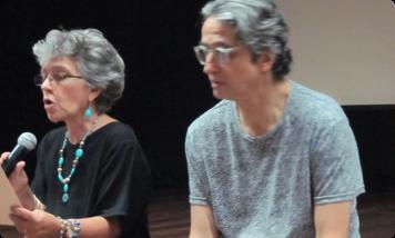 """""""Rosario y Luis Ospina"""". Fotografía tomada de www.banrepcultural.org"""