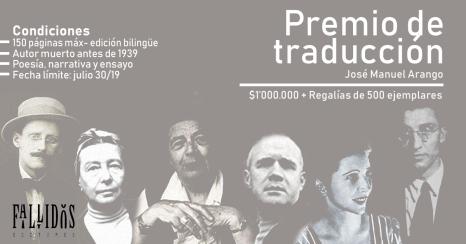 afiche traducción